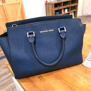 Michael Kors Large Selma Satchel Handbag